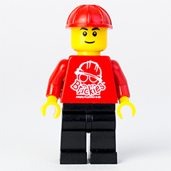 Brickies Club LEGO Minifigure