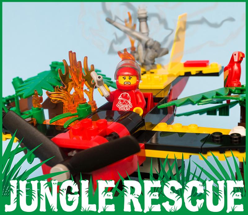 Brickies LEGO Workshop - Jungle Rescue