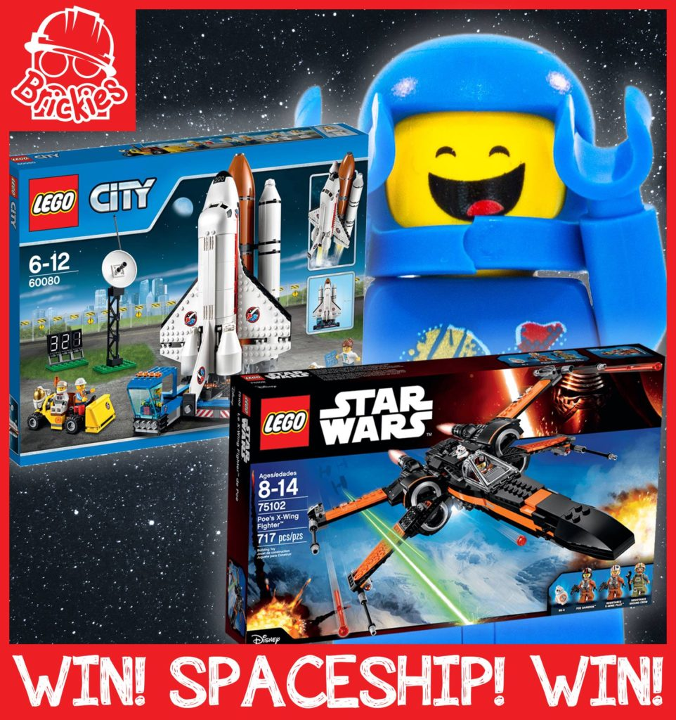 Brickies Lego spaceship competition