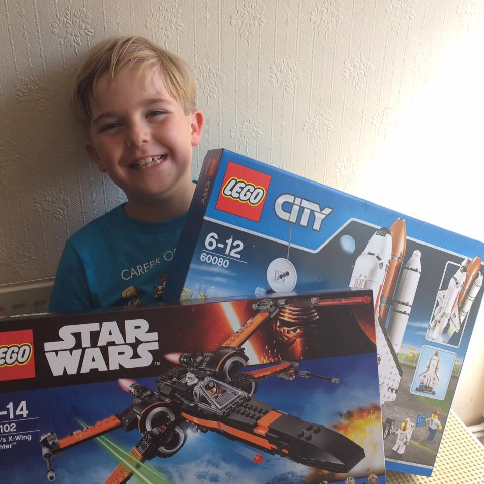 Winner of the Brickies LEGO Spaceship Competition