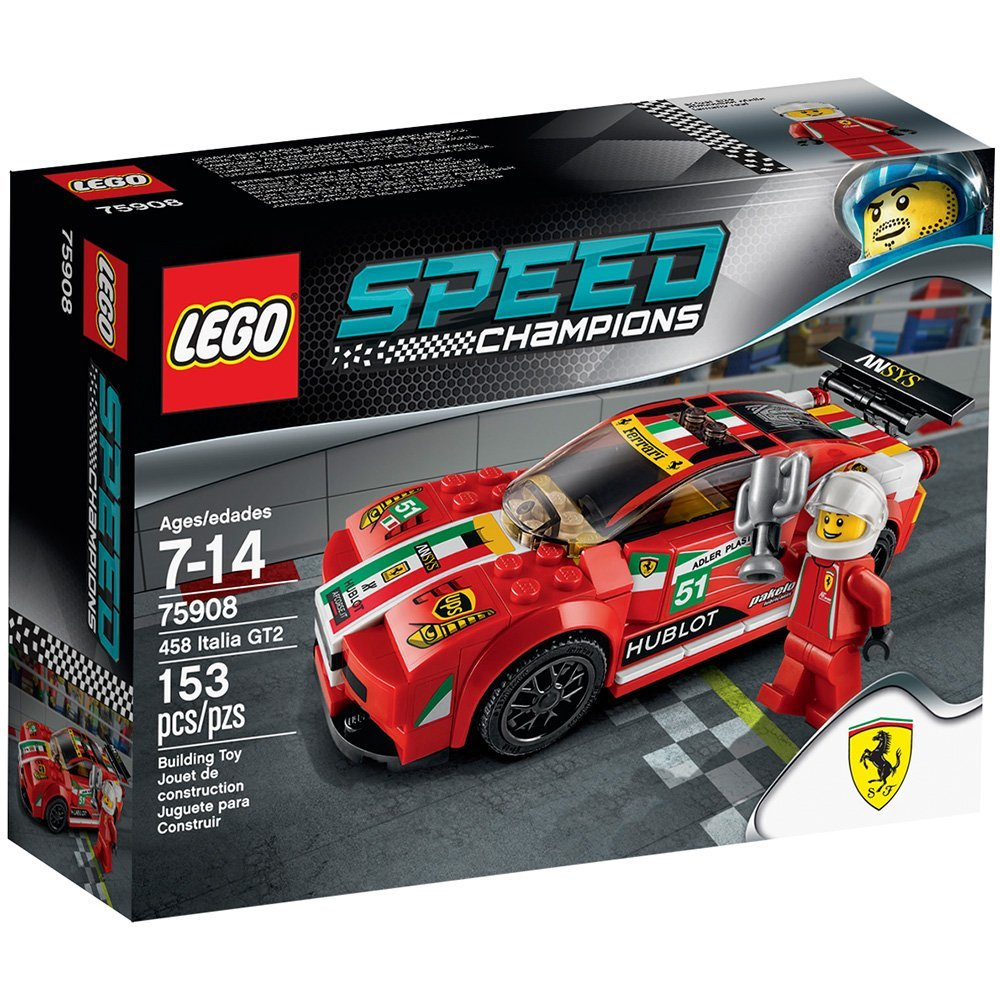 LEGO Speed Champions Italia GT2 Set 75908