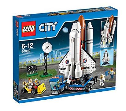 lego city space port set