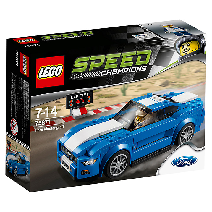 LEGO Speed Champions Ford Mustang Set 75871