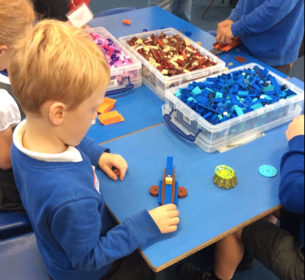 Brickies School Workshops - Learning through play - playtime