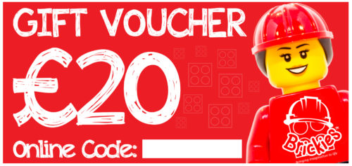 Brickies £20 Play Centre Voucher