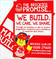 brickies lanyard back image