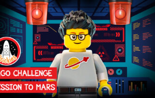 Brickies Mission to Mars LEGO Building Challenge Video