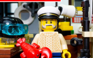 Lego sea rescue building video