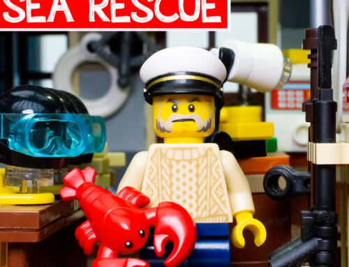 Sea Rescue LEGO Building Challenge